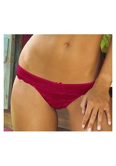 s.Oliver RED LABEL Bodywear String in bordeaux