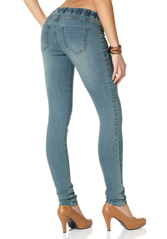 Arizona Jeansjeggings in blue-used