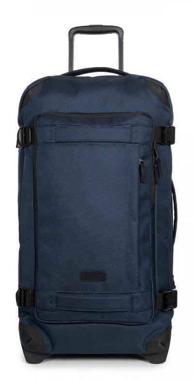 Eastpak Reisetasche »TRANVERZ M, Cnnct Navy«, enthält recyceltes Material (Global Recycled Standard)