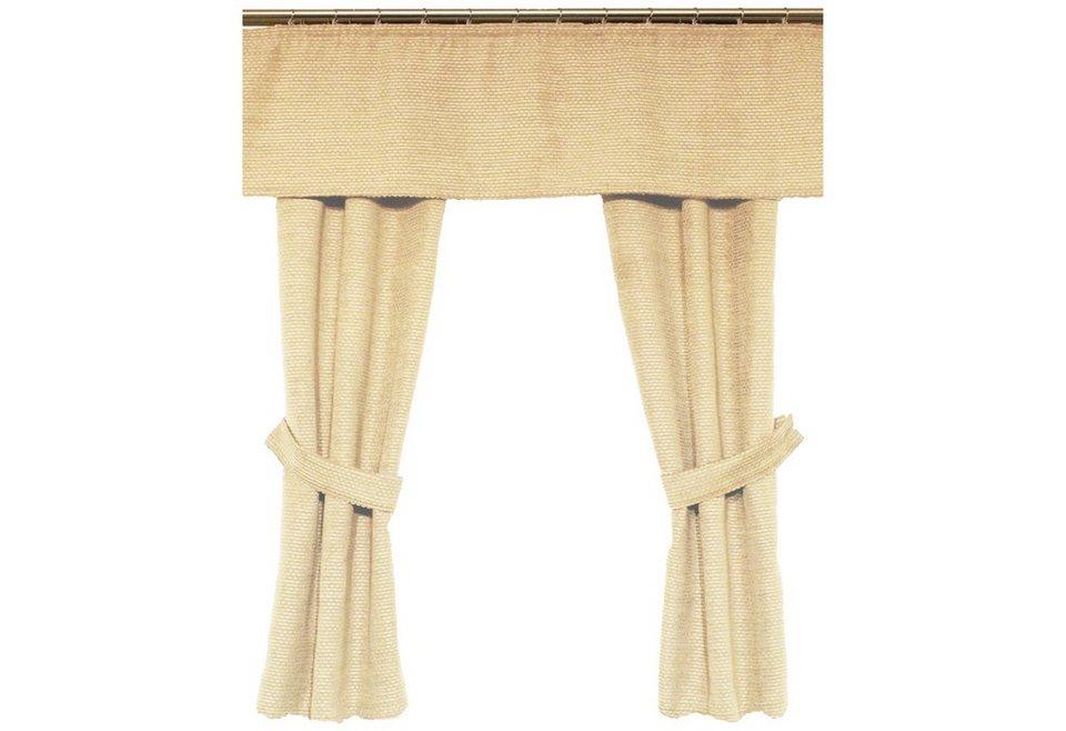 Vorhang, Wirth, »Fiona« (2 Stück) in beige