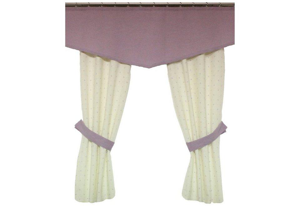 Vorhang, Wirth, »Ida« (2 Stück) in lila