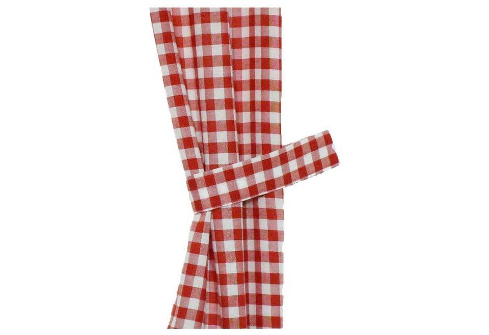 Raffhalter, Wirth, »Finja« (2 Stück) in rot