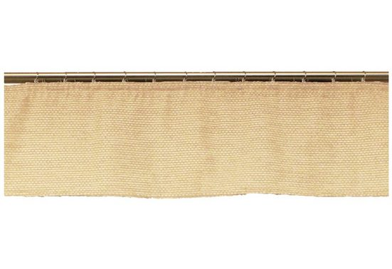Querbehang nach Maß »Fiona«, Wirth, Kräuselband (1 Stück), Höhe 35 cm