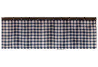 Querbehang nach Maß »Finja«, Wirth, Kräuselband (1 Stück), Höhe 35 cm