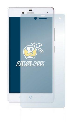 BROTECT Schutzfolie »Panzerglasfolie für ZTE Blade E01«, Schutzglas Glasfolie klar