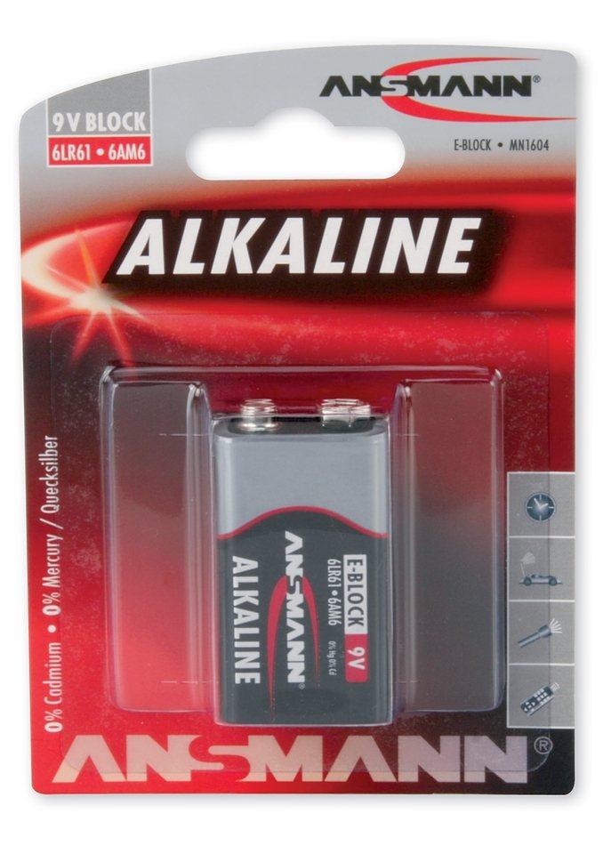 9V-Batterie, Ansmann, »Alkaline«