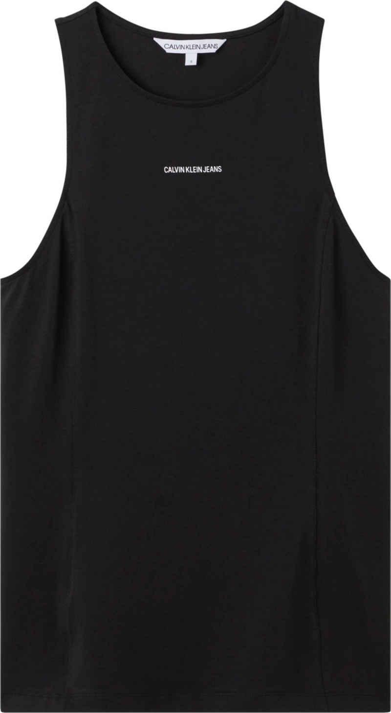 Calvin Klein Jeans Tanktop »Micro Branding Tank Top« mit Calvin Klein Jeans Micro Logo-Schriftzug