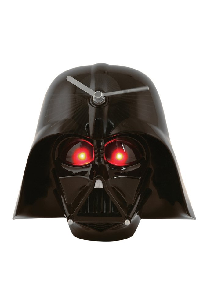 JOY TOY, 3D Wanduhr, »Darth Vader - mit Sound, Star Wars«