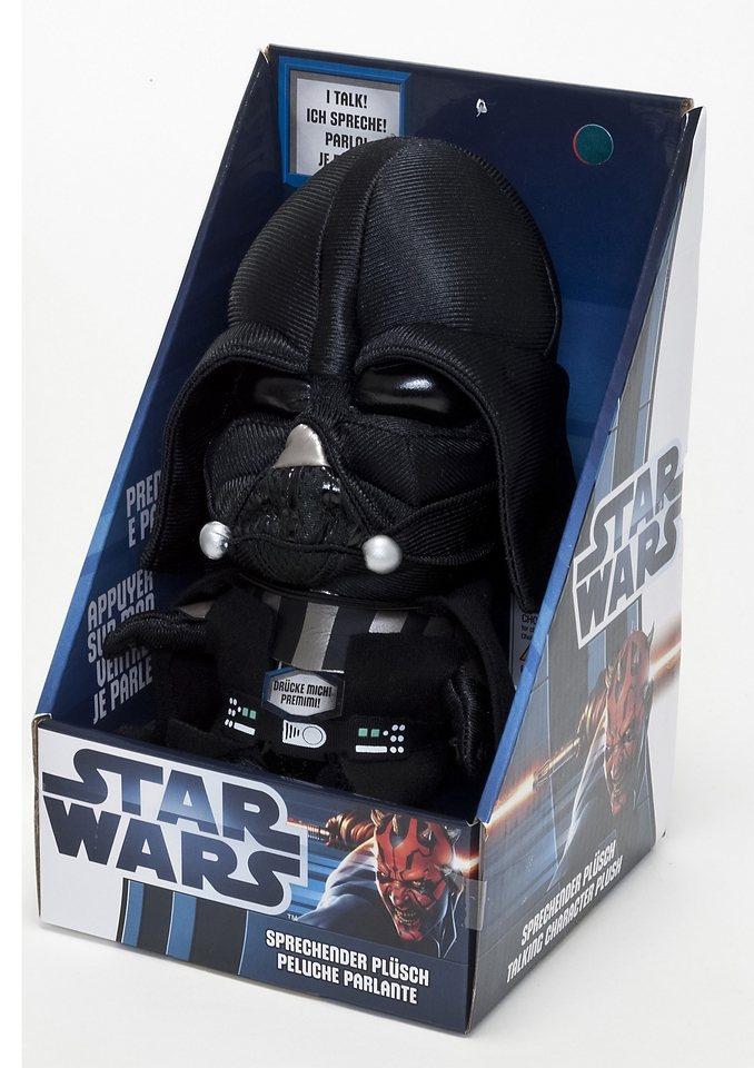 JOY TOY Plüschfigur »Star Wars - Darth Vader - mit Sound« in schwarz
