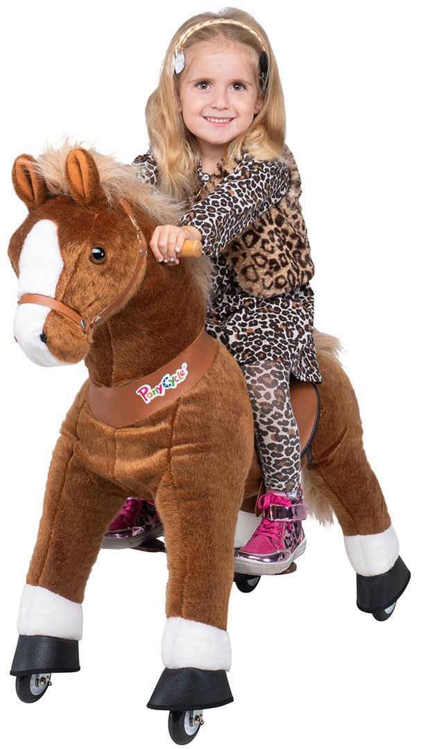 miweba Reitpferd »Ponycycle Amadeus«, Kuscheltier auf Rollen