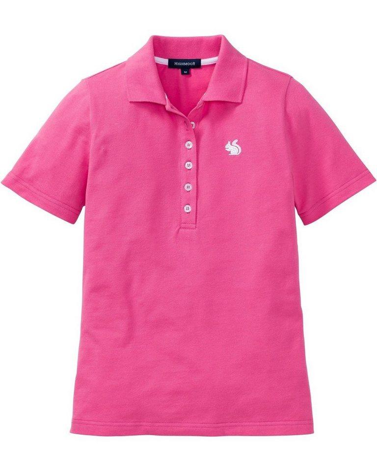 highmoor -  Poloshirt »Poloshirt mit Stickerei«
