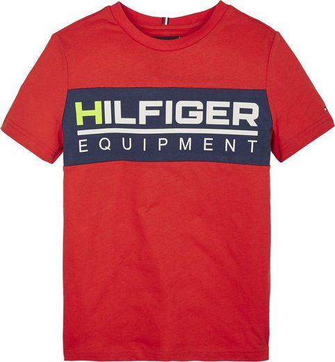 TOMMY HILFIGER T-Shirt zweifarbig