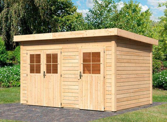 WOODFEELING Gartenhaus »Tintrup«, BxT: 396x273 cm