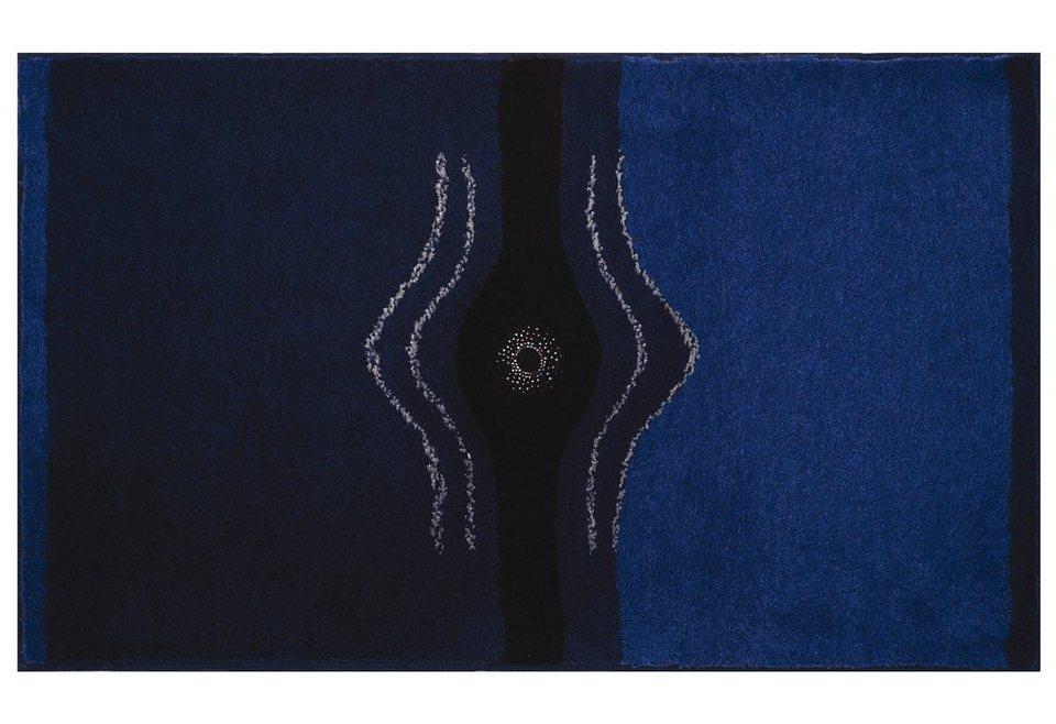Badematte, Grund, »Crystal Light«, Höhe ca. 24 mm, rutschhemmender Rücken in anthrazit