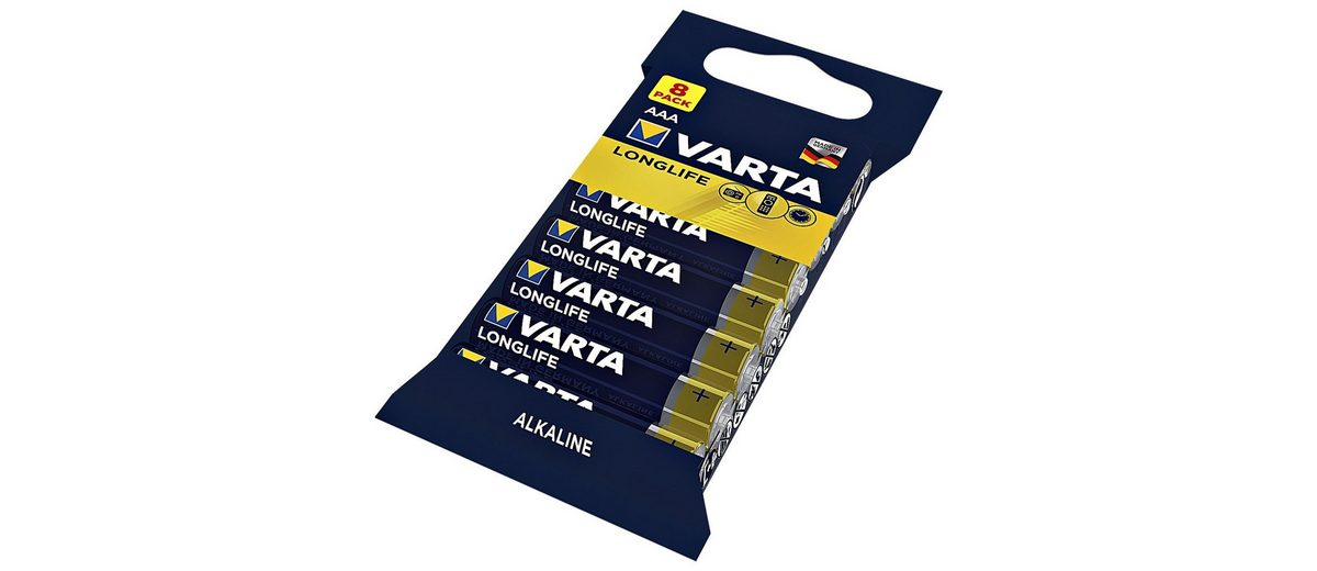 Varta Batterien »Longlife« Micro / AAA / LR03