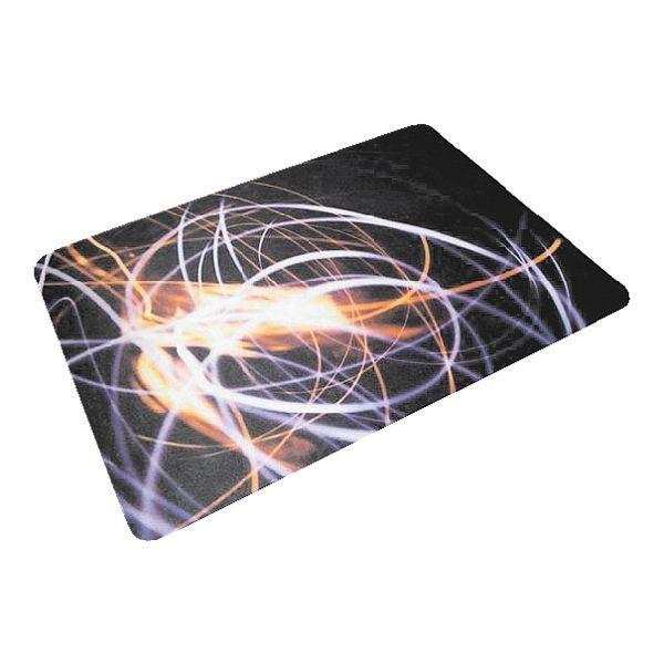 Floortex Bodenschutzmatte 120x90 cm rechteckig für Hartboden »Lichtwirbel«
