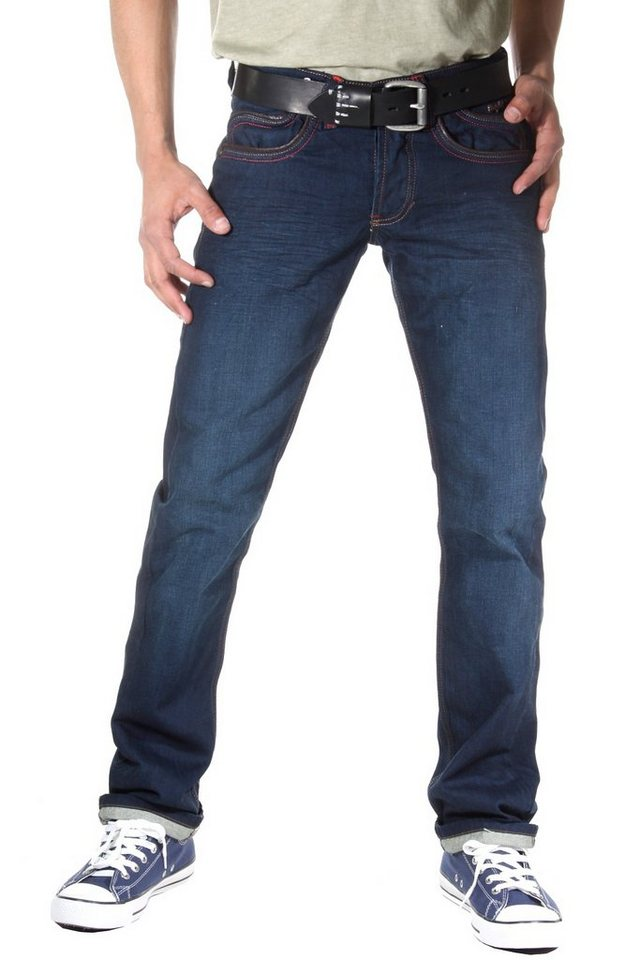 Bright Jeans Hüftjeans in blau