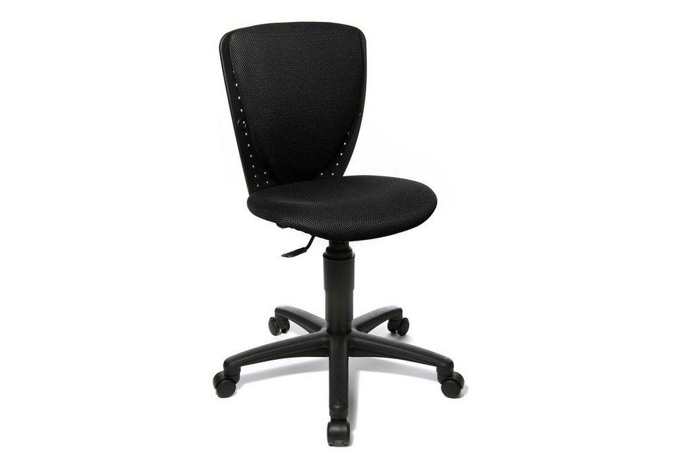 Topstar Drehstuhl, für Kinder- und Jugendliche geeignet, in 2 Farben in schwarz