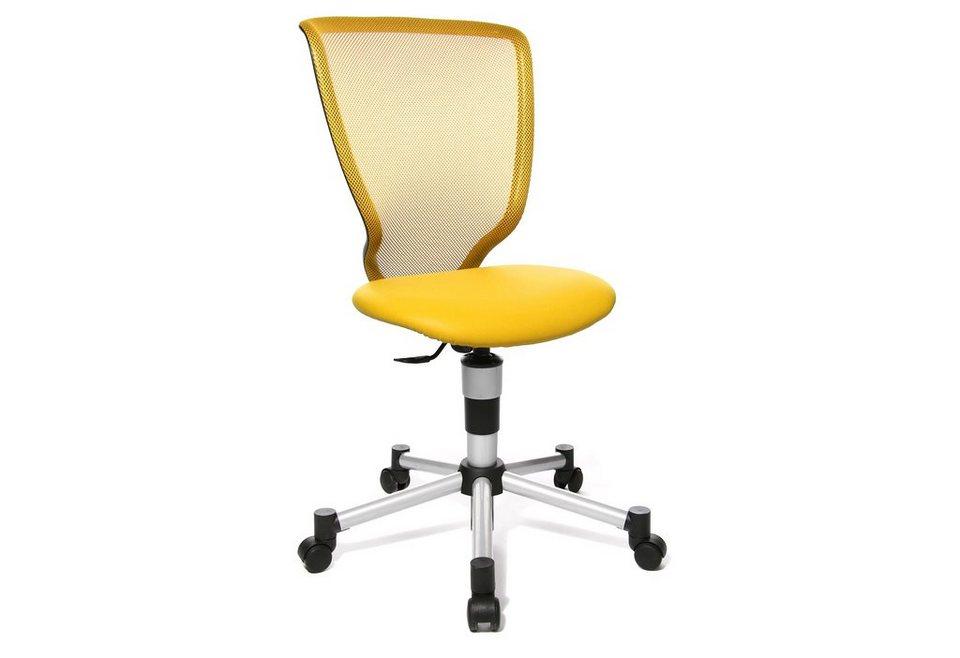 Topstar Drehstuhl »Titan Junior«, für Kinder geeignet, in 8 Farben in gelb
