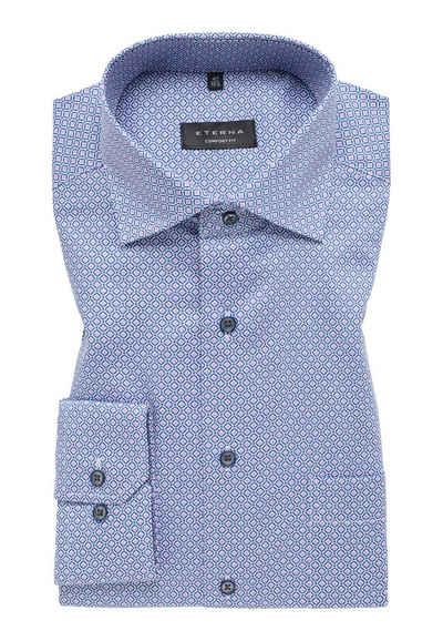 Eterna Businesshemd »COMFORT FIT« Print-Langarmhemd