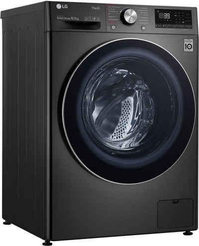 LG Waschmaschine F6WV710P2S, 10,5 kg, 1600 U/min