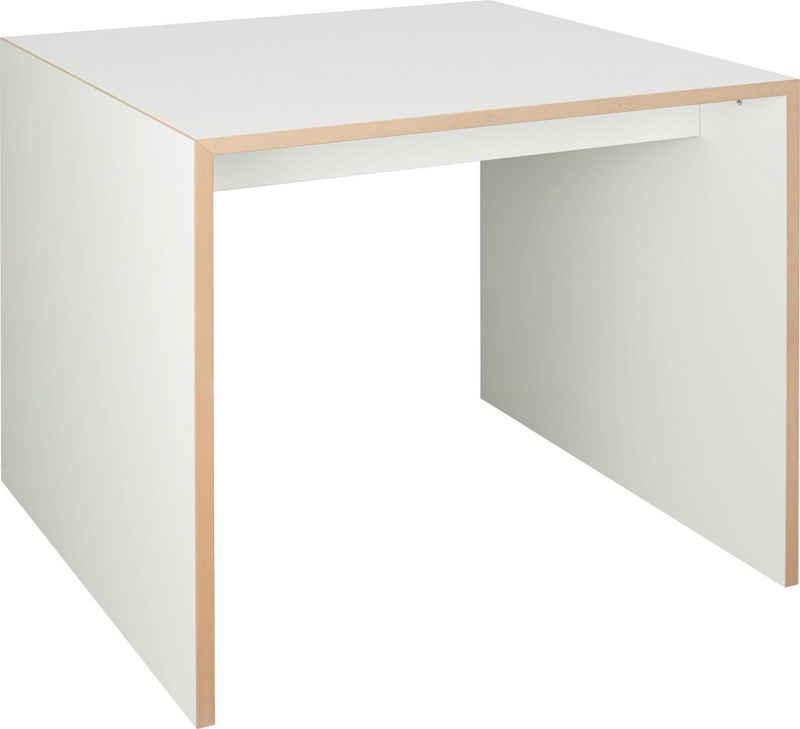 Tojo Arbeitstisch »freistell-klein«, variabel einsetzbar als Couch- oder Beistelltisch, Breite/Tiefe: 80/80 cm