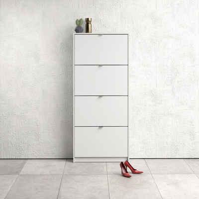 Home affaire Schuhschrank »Shoes« mit vier Klappen, in verschiedenen Farbvarianten erhältlich