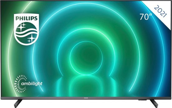 Philips 70PUS7906/12 LED-Fernseher (177 cm/70 Zoll, 4K Ultra HD, Android TV, Smart-TV)