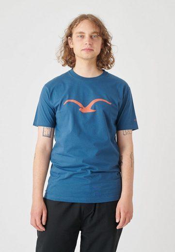 Cleptomanicx T-Shirt »Mowe« mit klassischem Print