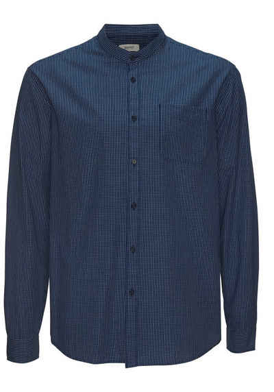 Esprit Langarmhemd mit Stehkragen