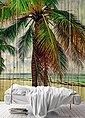 living walls Fototapete »Walls by Patel Tahiti 3«, glatt, (2 St), Bild 2
