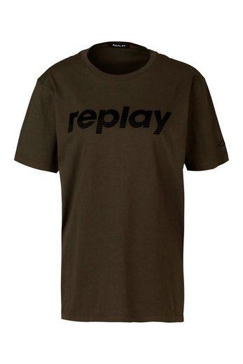 Replay Oversize-Shirt »Single Jersey«