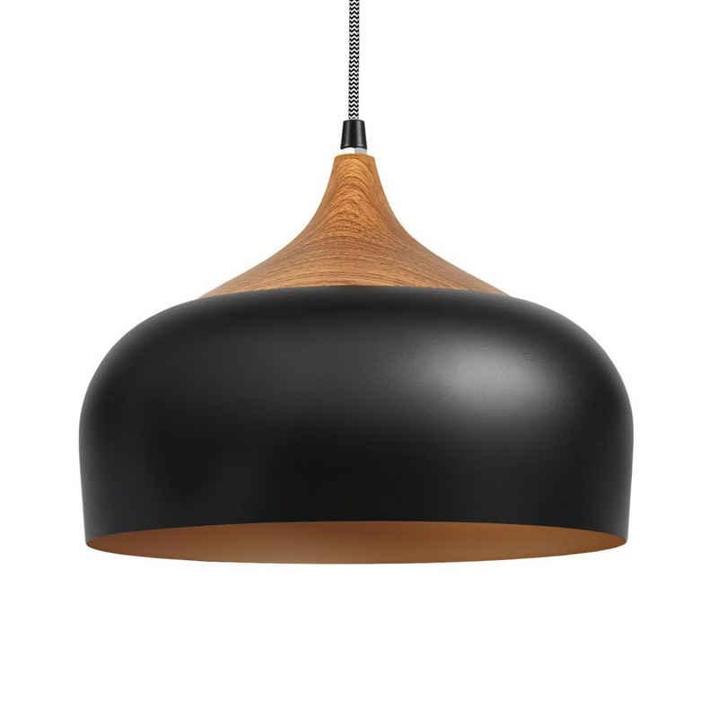 Tomons Hängeleuchten »Pendelleuchte LED Deckenlampe«, Industrielle Vintage, E27 Leuchtmittel, 30,5 cm Durchmesser