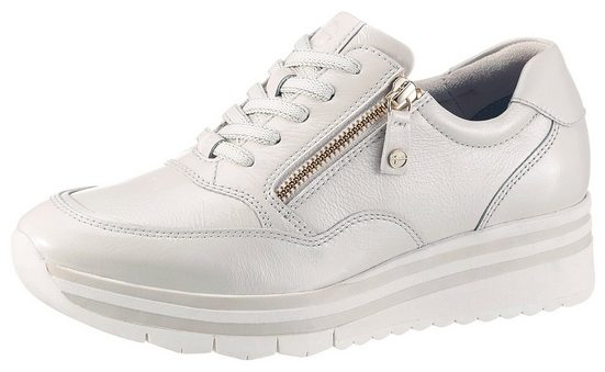 Tamaris »Pure Relax« Wedgesneaker im glänzenden Look