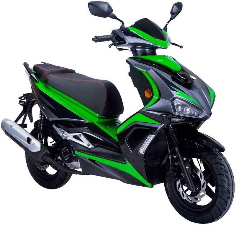 GT UNION Motorroller »Striker«, 50 ccm, 45 km/h, Euro 5