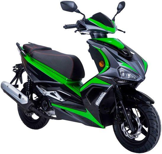 GT UNION Motorroller »Striker«, 50 ccm, 45 km/h, Euro 4