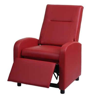 MCW TV-Sessel »MCW-H18«, Synchrone Verstellung der Rücken- und Fußlehne, Synchrone Verstellung der Rücken- und Fußlehne, Verstellbare Rückenfläche, Klappbare Rückenlehne