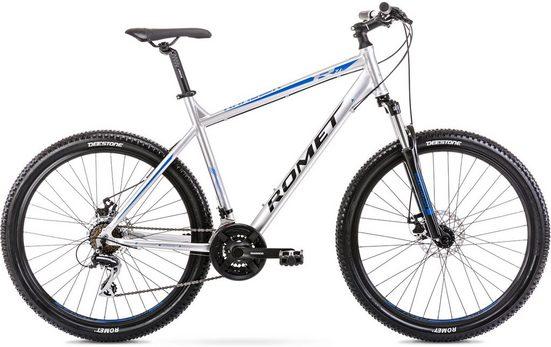 ROMET Mountainbike »Rambler 7.1«, 21 Gang Shimano RD M 360 Schaltwerk, Kettenschaltung