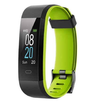 100% Fitness-Tracker »Fitness Tracker, Smartwatch Wasserdicht IP68 Fitness Armband mit Pulsmesser 0,96 Zoll Farbbildschirm Aktivitätstracker Pulsuhren Schrittzähler Uhr Smart Watch Fitness Uhr für Damen Herren«
