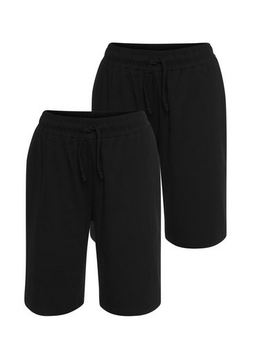 Eastwind Shorts »Double Pack Short, black+black« (2-tlg., 2er-Pack)