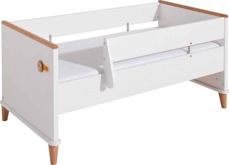 PAIDI Kinderbett »Sicherheits-Set 70 x 140 cm Lotte & Fynn« (2 Bettseiten, 1 Schutzseite und eine Absturzsicherung (links/ rechts montierbar), Steiff by Paidi