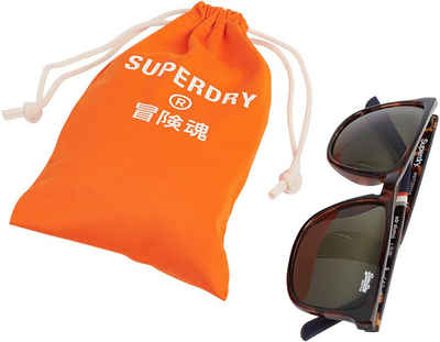 Superdry Retrosonnenbrille mit 3 Zierstreifen am Bügel