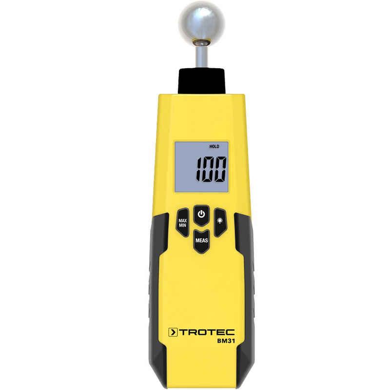 TROTEC Feuchtigkeitsmesser »BM31«, Feuchteindikator Abschaltautomatik Messen Schimmel Feuchte Wände Innenraum