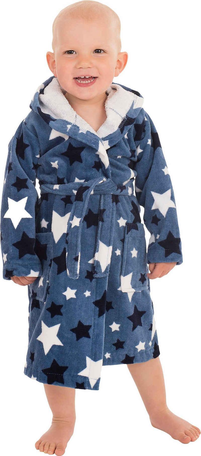 Kinderbademantel »8207«, Wewo fashion, mit Sternen