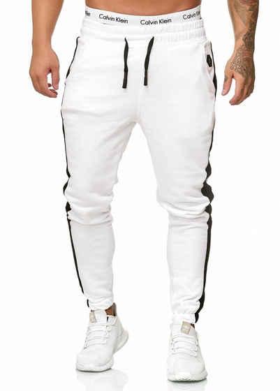 OneRedox Jogginghose »1211C« (Sporthose Trainingshose Sweatpants, 1-tlg., im modischem Design) Fitness Freizeit Casual