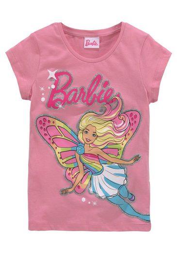 Barbie T-Shirt glitzernder Print