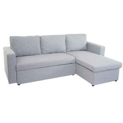 MCW Schlafsofa »MCW-D92«, Ausziehbares Sofa mit Schlaffunktion, Mit Staufach im Seitenteil, Beidseitig montierbar