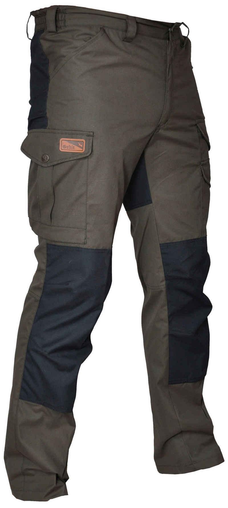 La Chasse® Outdoorhose »Stretch-Funktionshose Makalu Jagdhose Herren elastisch mit Beintaschen und Verstärkungen im Gesäß- & Kniebereich, stark wasserabweisend«