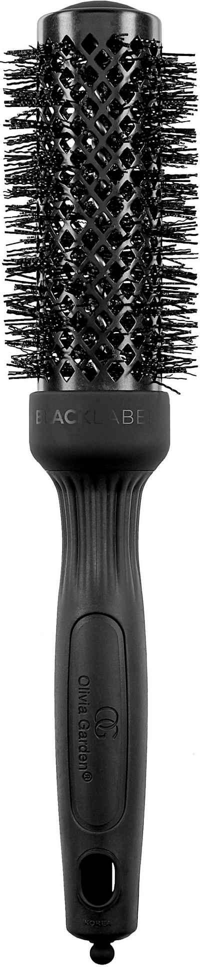 OLIVIA GARDEN Rundbürste »Olivia Garden Thermal Black Label 34/50 mm«