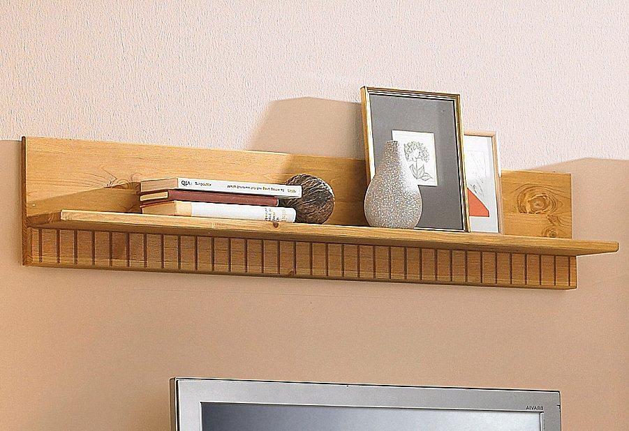 Wandbord, Home affaire, Breite 100 cm in gelaugt/geölt